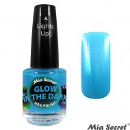 Glow in the Dark Nagellak Blueberry Blauw