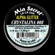 Alpha & Dust Glitter Acryl-Pulver Crystalina 008