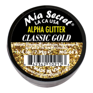 Alpha & Dust Glitter Acryl-Pulver Classic Gold