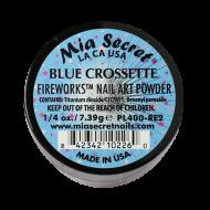 Fireworks Acryl-Pulver Blue Crossette