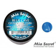 Glow in the Dark Acryl-Pulver Blue Cave
