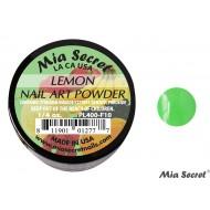 Fruity Acryl-Pulver Lemon