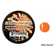 Flash-Neon Acryl-Pulver Orange