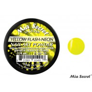 Flash-Neon Acryl-Pulver Yellow