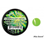Flash-Neon Acryl-Pulver Green