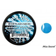 Flash-Neon Acryl-Pulver Blue