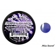 Flash-Neon Acryl-Pulver Purple