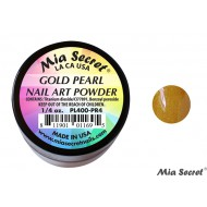 Pearl Acryl-Pulver Gold