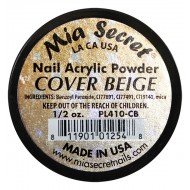 Cover Acryl-Pulver Beige 15ml.