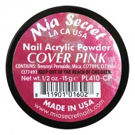 Cover Acryl-Pulver Pink 15ml.