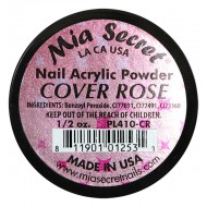 Cover Acryl-Pulver Rose 15ml.