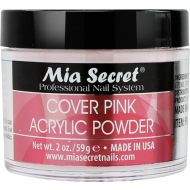 Cover Acryl Pulver Rose 60 ml.