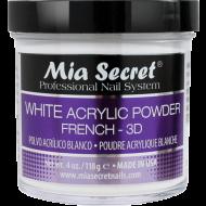 Acryl Pulver Weiß 118 ml.