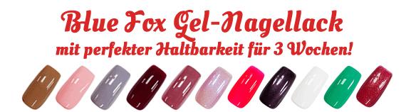 Blue Fox Gel-Nagellack